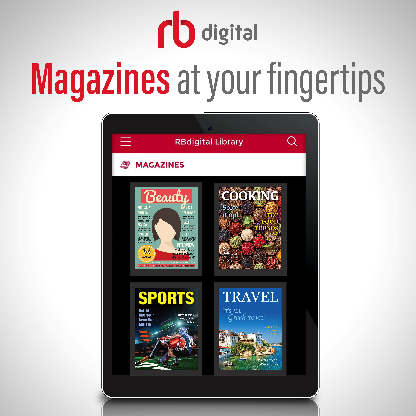 RB Digital Magazines at your fingertips